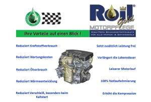 Vorteile Roil Gold mit Motor